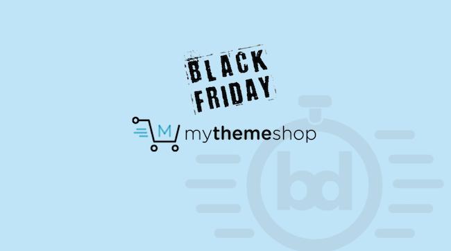 MyThemeShop Black Friday