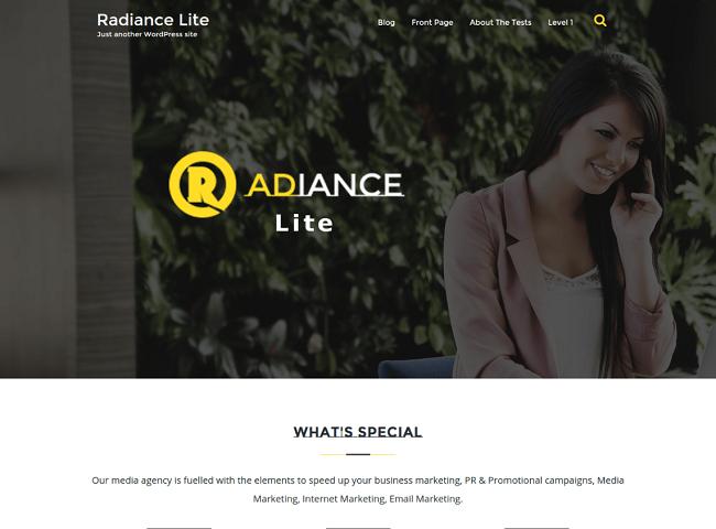 Radiance Lite, Free Responsive Plugin