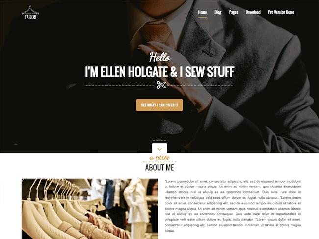 Tailor Free WordPress Theme