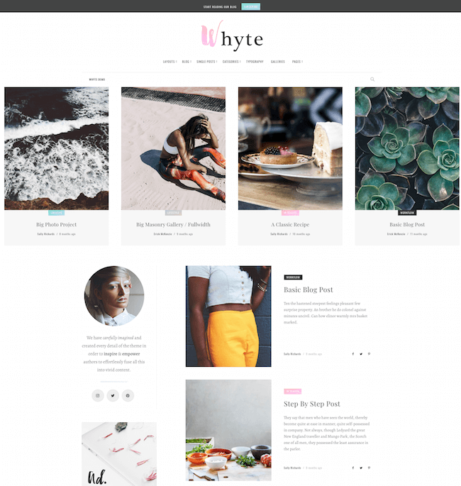 Whyte Creative WP Theme