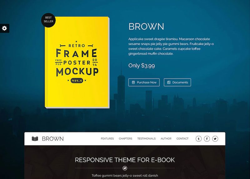 brown-one-page-bookstore