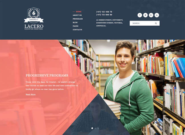 lacero-education-university-wordpress-theme