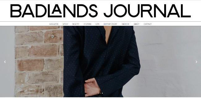 badlands journal