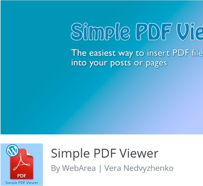 15 best pdf viewer wordpress plugins 2018 simple pdf viewer utilizes the popular google document viewer to help view pdf documents on your website the plugin allows you to insert pdf files into fandeluxe Gallery