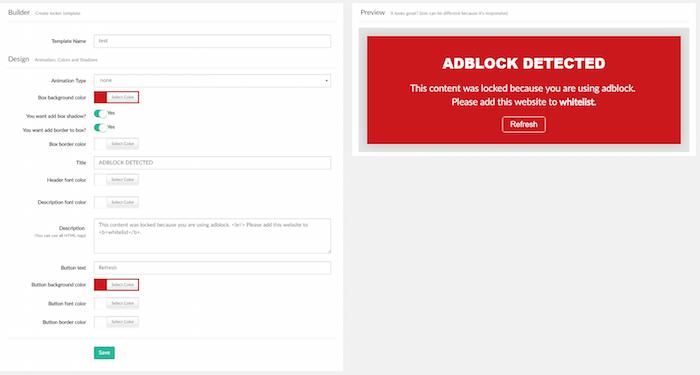 AdBlock Content Locker