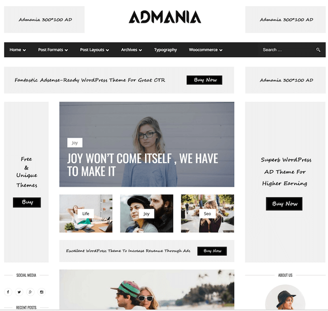 Admania-AdSense-WordPress-Theme
