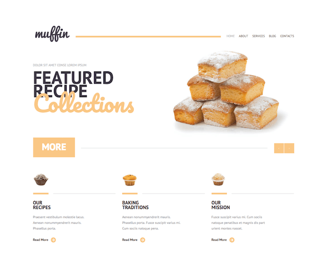 Bakery Responsive WordPress Theme