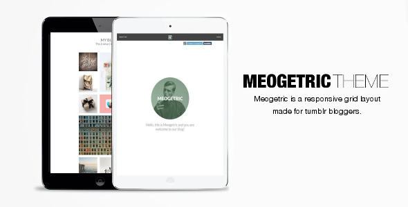 Meogetric Tumblr Theme