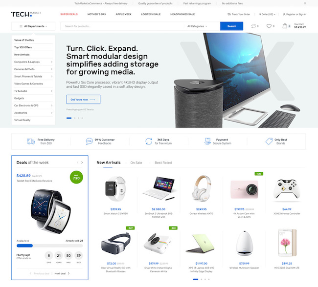 Techmarket Affiliate Theme