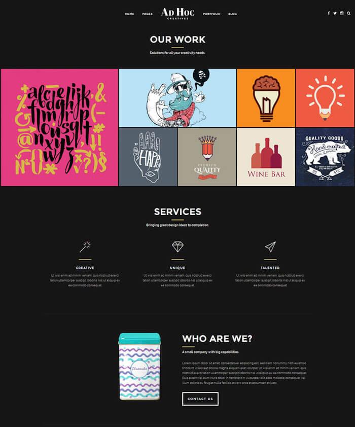 Creative-Portfolio-WordPress-Themes