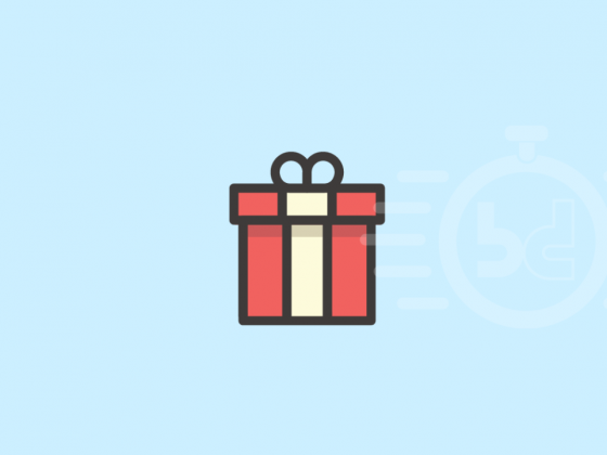 Giveaway in WordPress