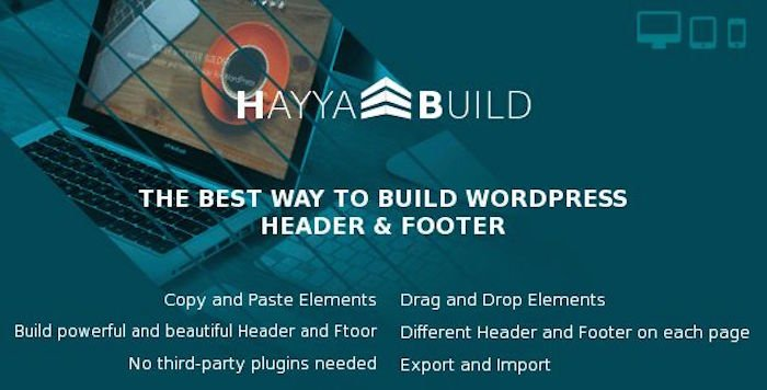 HayyaBuild Page Builder