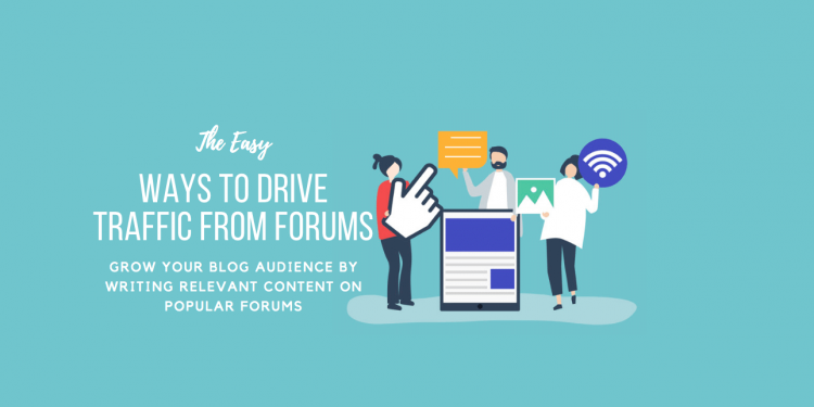 How to Drive Traffic From Forums