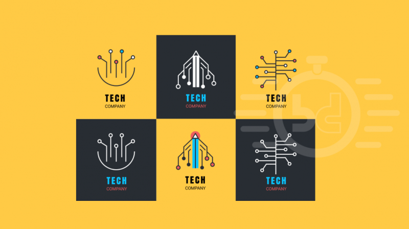 30 best tech logo inspirations 2018