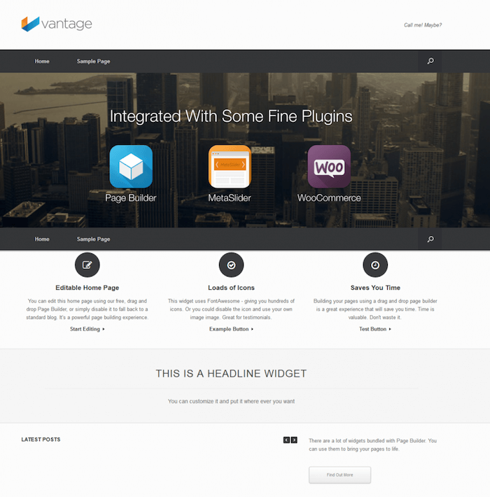 Vantage Directory WordPress Theme