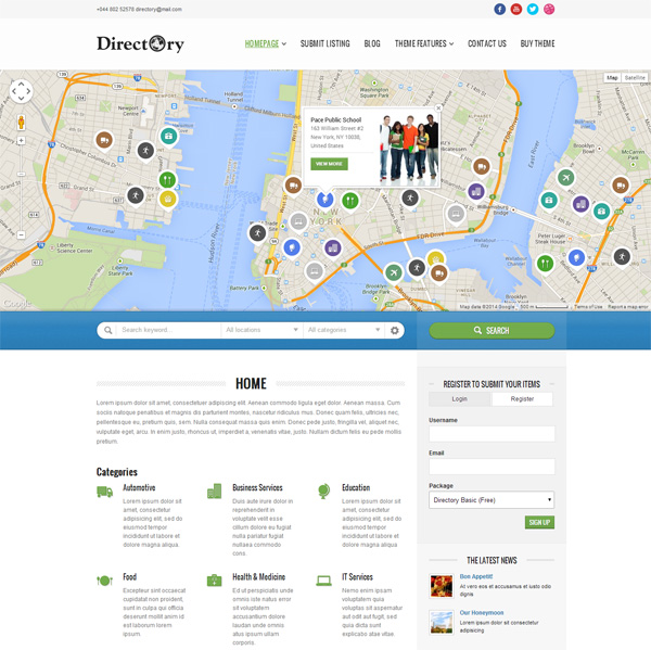 directory-portal-wordpress-theme