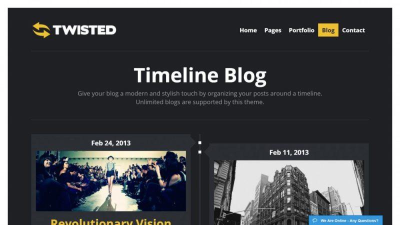 Best WordPress Timeline Style Theme