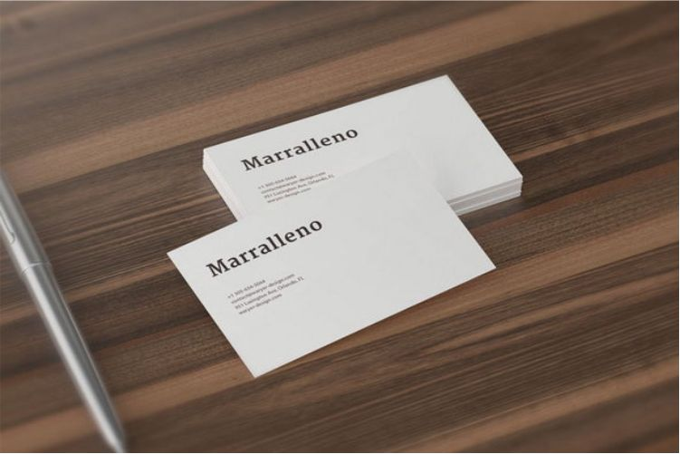 100 best free psd business card mockups 2018 4 free business card mockups colourmoves