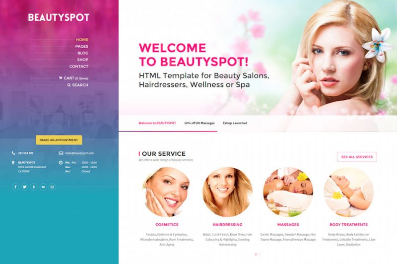 BeautySpot WordPress Theme