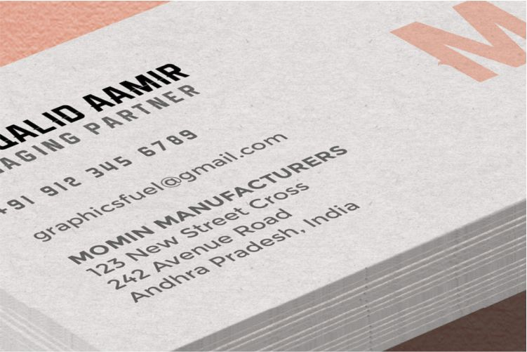 Business Card Mockup by Graphicsfuel