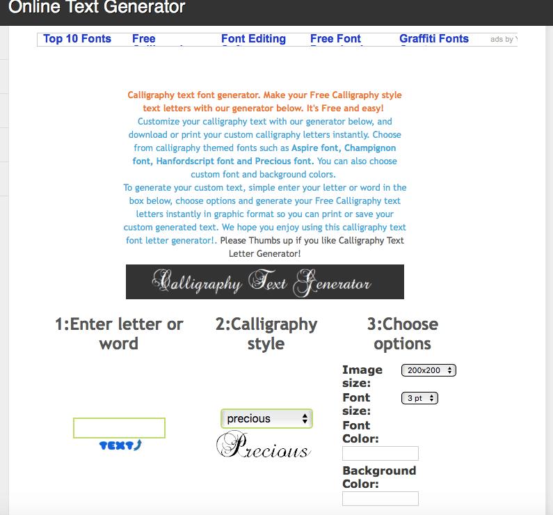 Online Text Generator