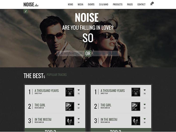Noise-DJ-Music-Theme