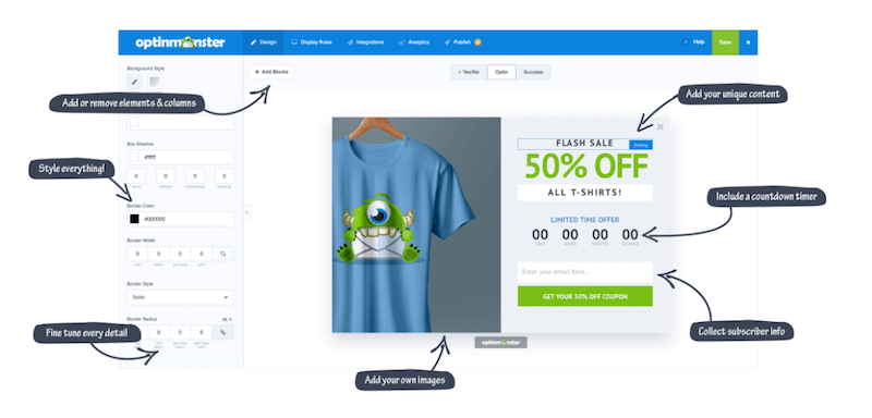 OptinMonster Plugin for eCommerce