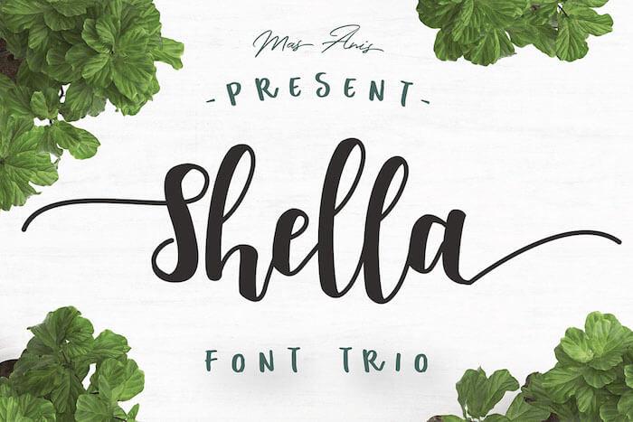 Shella Clean font