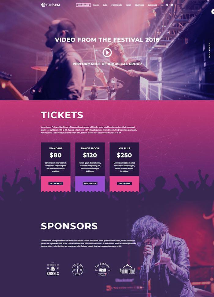 TheGem Event Theme