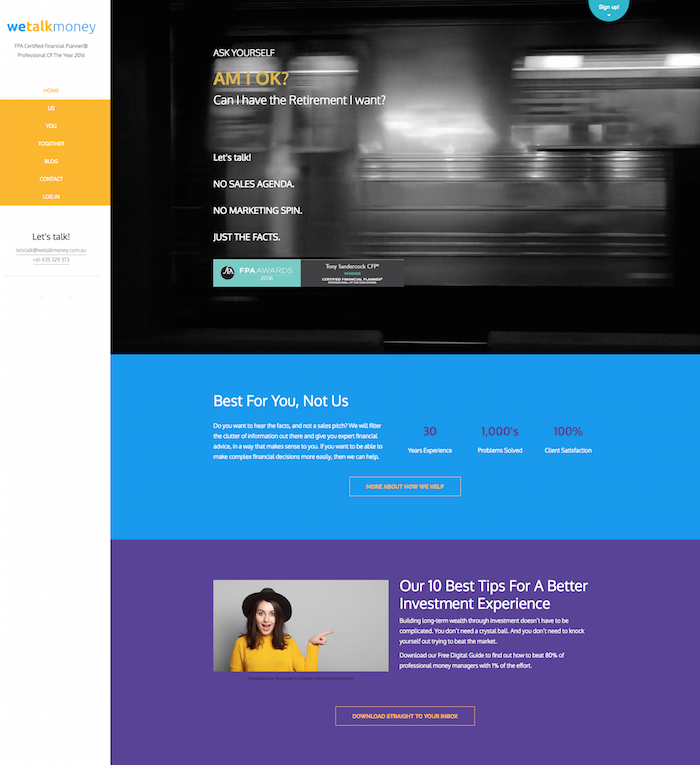Trendy Weebly Site