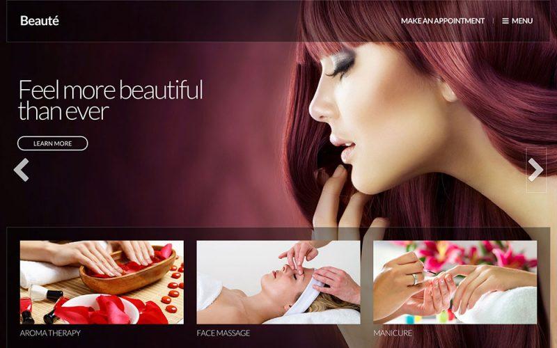 Beauté Beauty Salon WordPress Theme