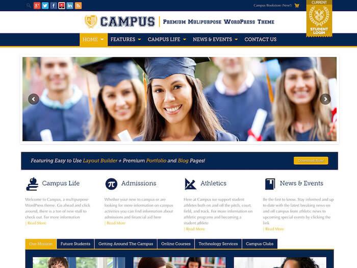 campus-wordpress-theme