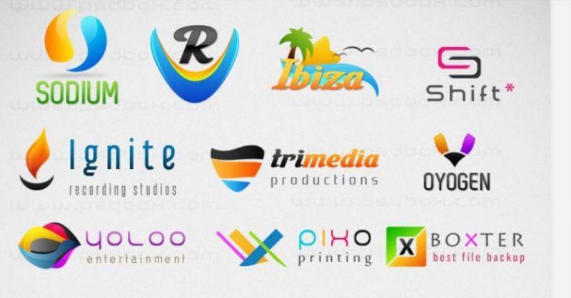 Multipurpose Customizable PSD Logos