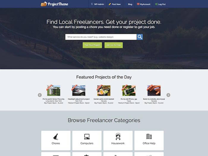 project-freelancer-theme