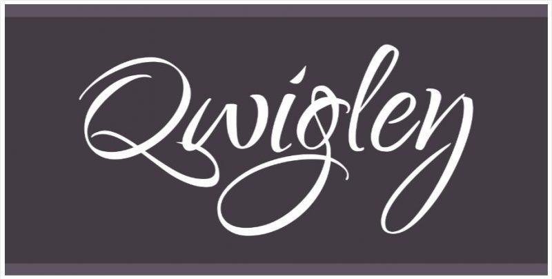 Qwigley Font
