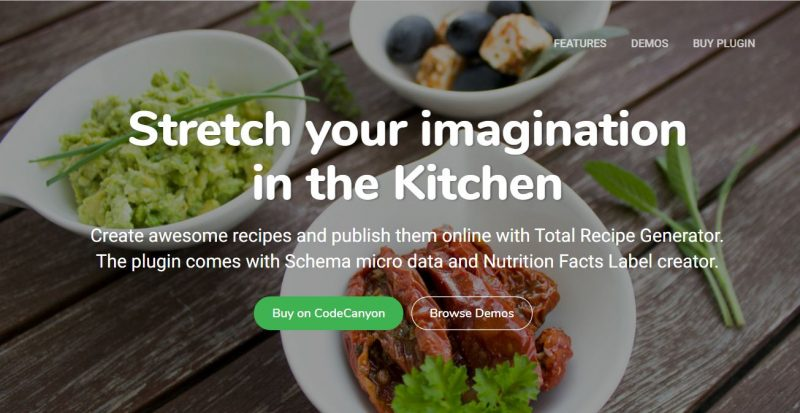 20 best food recipe wordpress plugins 2018 get the plugin forumfinder Images