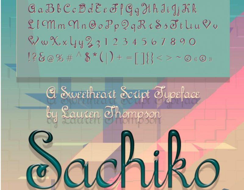 Sachiko Font