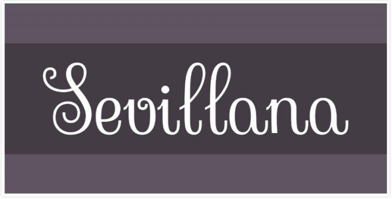 Sevillana Font
