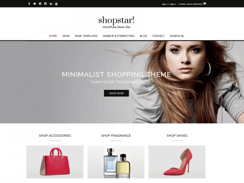 Shopstar WooCommerce Theme