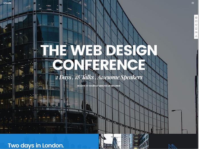 uncode-event-wordpress-website-template
