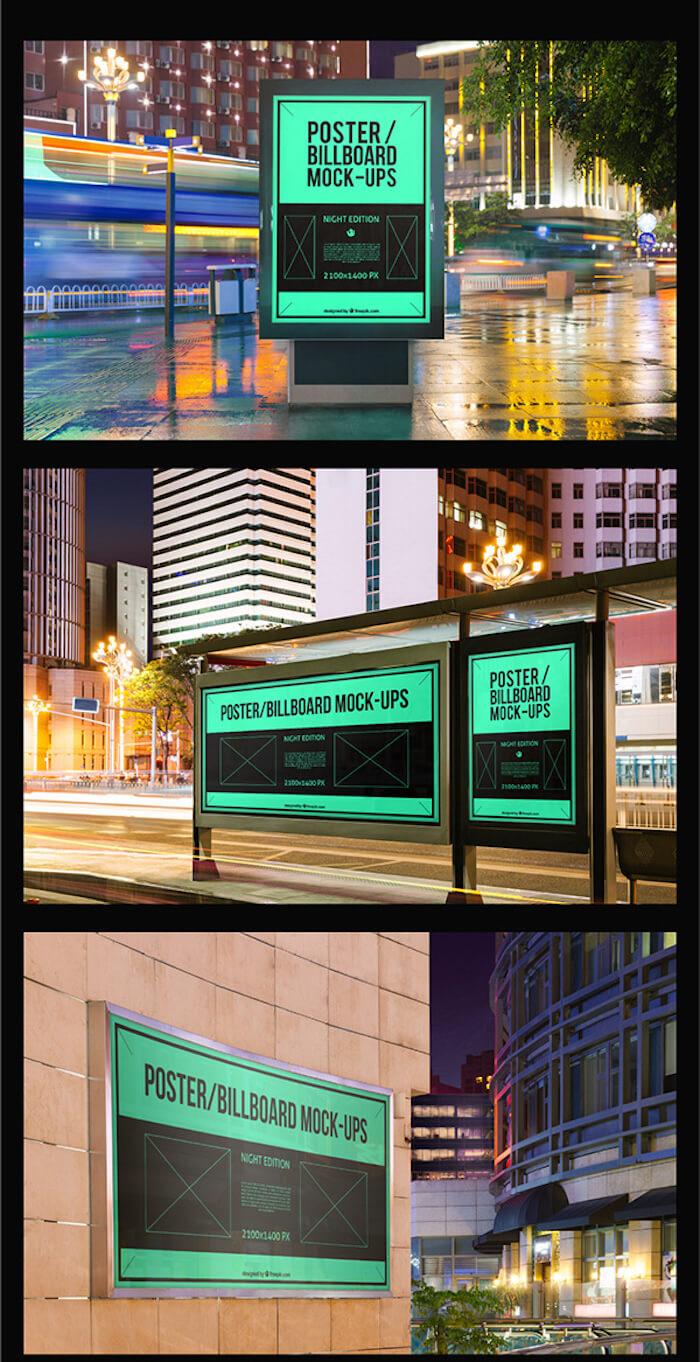 10-Poster-Billboard-Mockups
