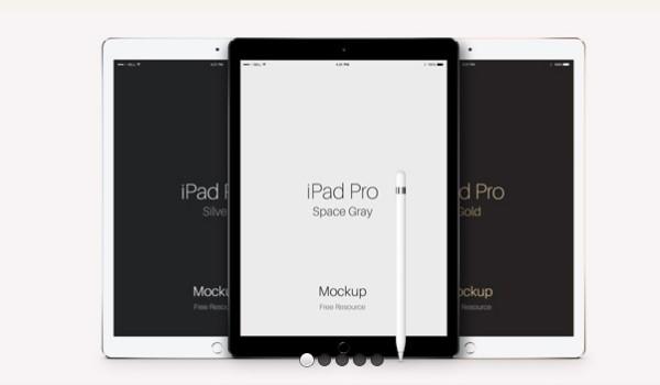 PSD-iPad-Pro-vector-mockup