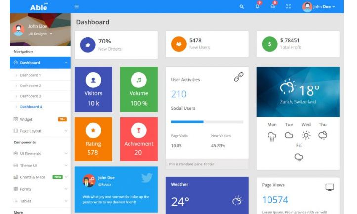 able-pro-admin-dashboard