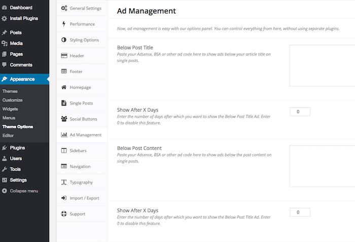 Ad Management