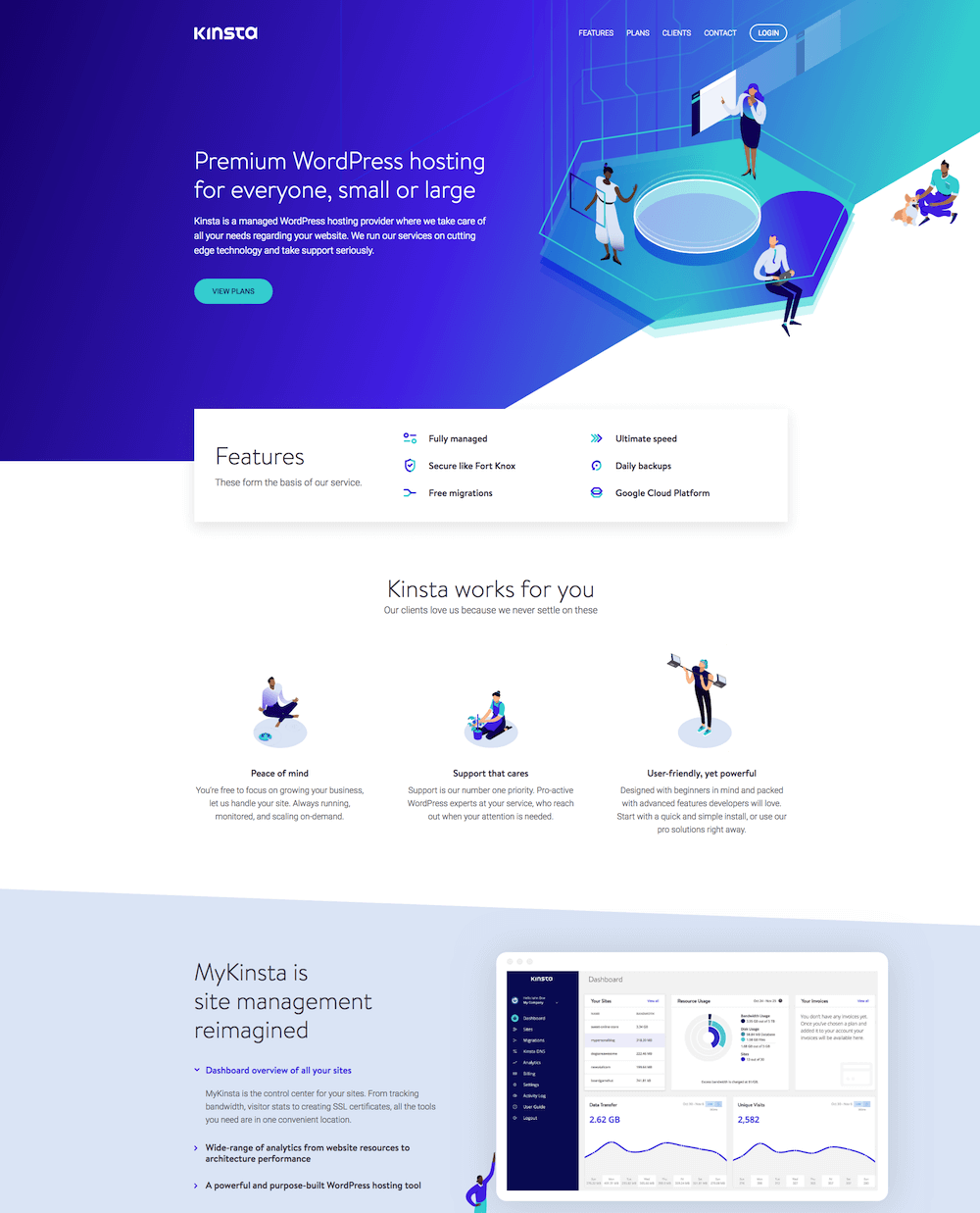 Kinsta WP Hosting