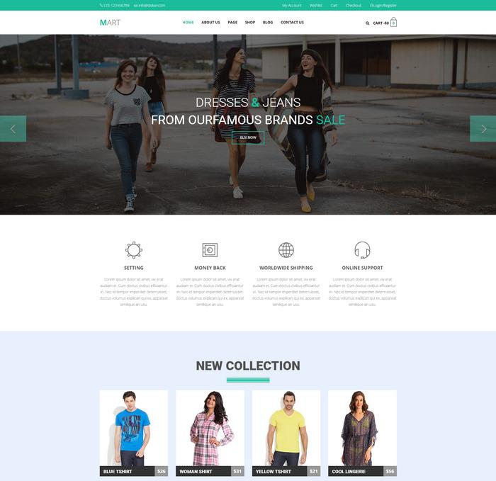 Mart eCommerce Template