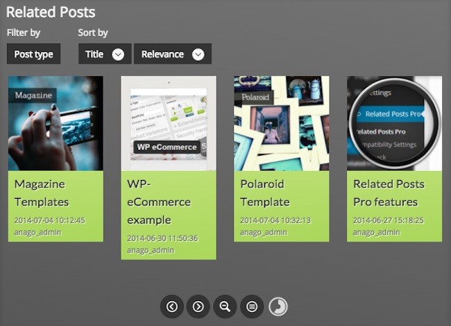Related Posts Pro Plugin for WordPress