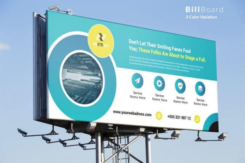 Billboard Abstract Mockup
