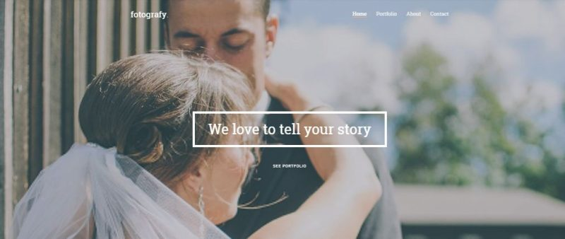 Fotography HTML Template