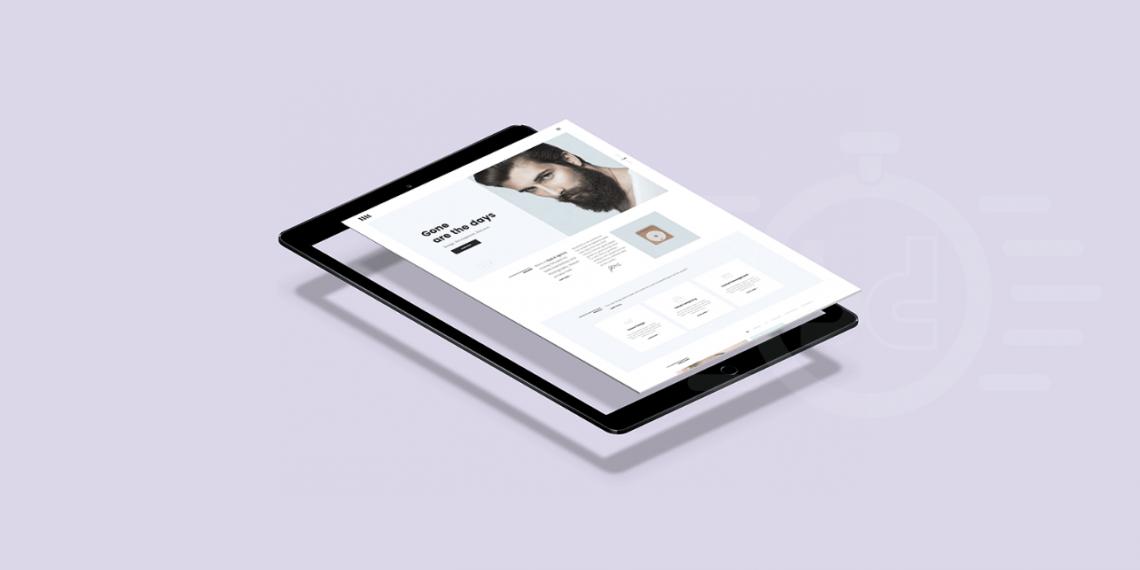 iPad PSD Mockup Template